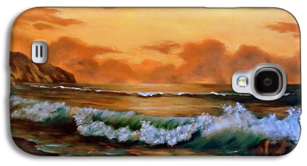 Waterscape Galaxy S4 Cases - End Of Day Galaxy S4 Case by Anne Barberi