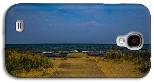 Base Path Galaxy S4 Cases - End of the Beach Path Galaxy S4 Case by Angus Hooper Iii