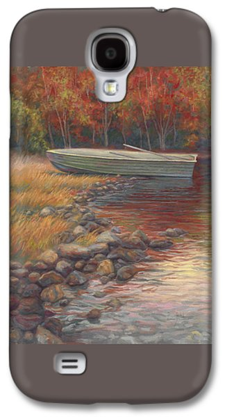 Rowboat Galaxy S4 Cases - End Of The Day Galaxy S4 Case by Lucie Bilodeau