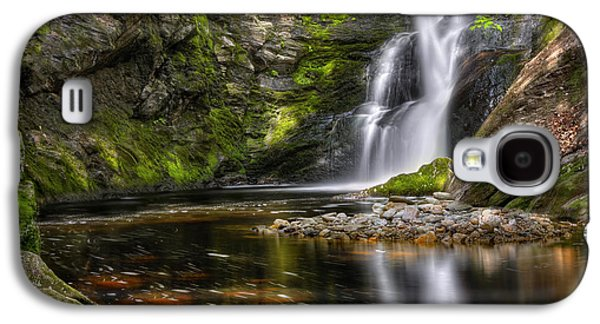Connecticut Landscape Galaxy S4 Cases - Enders Falls Galaxy S4 Case by Bill  Wakeley