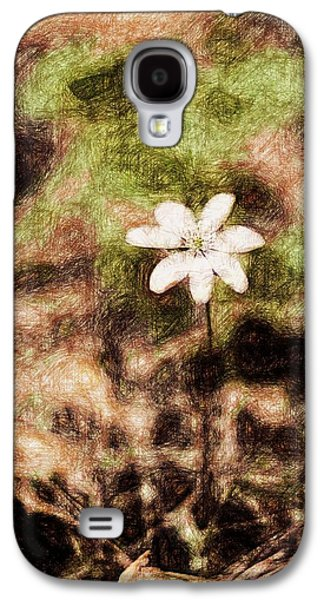Lilacs Drawings Galaxy S4 Cases - Endgraving Forest 14 Galaxy S4 Case by Yevgeni Kacnelson