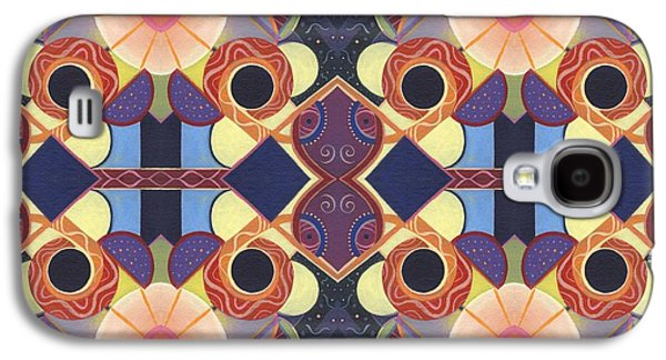 Nature Abstract Galaxy S4 Cases - Endless Potential - A Beauty In Symmetry 4 Compilation Galaxy S4 Case by Helena Tiainen