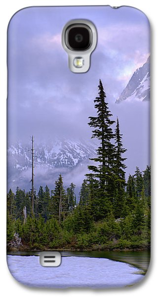 Pine Tree Galaxy S4 Cases - Enduring Winter Galaxy S4 Case by Chad Dutson