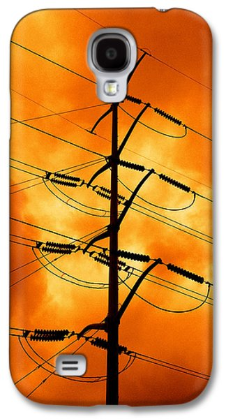 Electrical Photographs Galaxy S4 Cases - Energized Galaxy S4 Case by Don Spenner