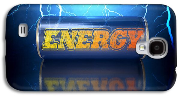 Energy Drink Can Galaxy S4 Case by Allan Swart