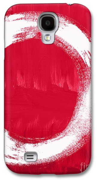 Studio Mixed Media Galaxy S4 Cases - Energy Galaxy S4 Case by Linda Woods