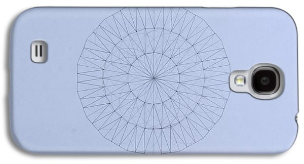 Einstein Drawings Galaxy S4 Cases - Energy Wave 20 Degree Frequency Galaxy S4 Case by Jason Padgett