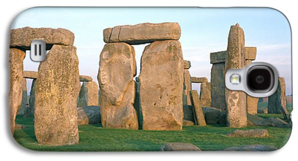 Megalith Galaxy S4 Cases - England, Wiltshire, Stonehenge Galaxy S4 Case by Panoramic Images