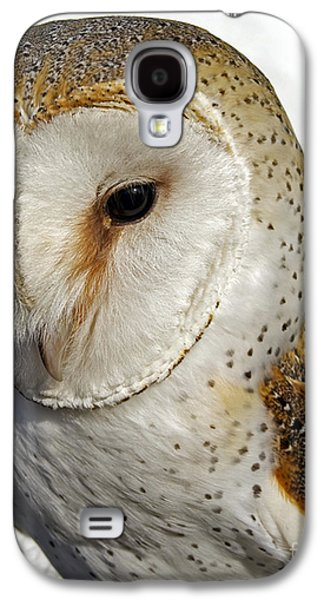 Photos Of Birds Galaxy S4 Cases - English Barn Owl Galaxy S4 Case by Skip Willits