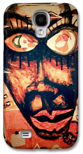 Jay Z Paintings Galaxy S4 Cases - Enjoy Galaxy S4 Case by Rick Burgunder