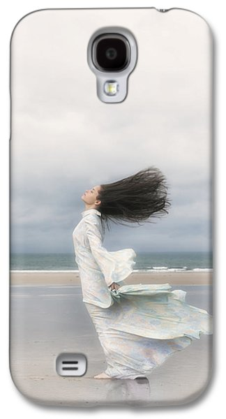 Thoughtful Photographs Galaxy S4 Cases - Enjoying The Wind Galaxy S4 Case by Joana Kruse