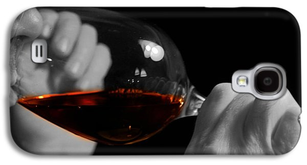 Enterprise Galaxy S4 Cases - Enjoying Wine Galaxy S4 Case by Patricia Hofmeester