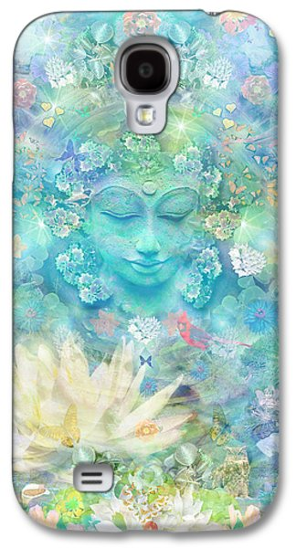 Enlightened Forest Heart 3 Galaxy S4 Case by Alixandra Mullins