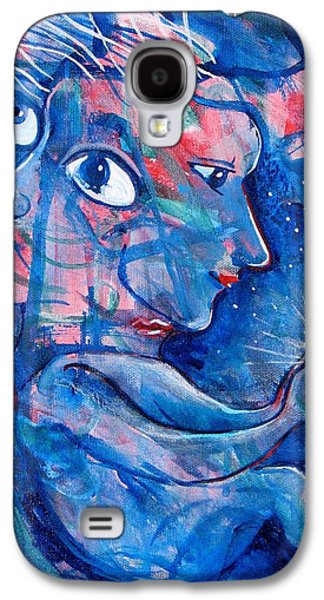 Subconscious Paintings Galaxy S4 Cases - Enlightened Galaxy S4 Case by Rollin Kocsis