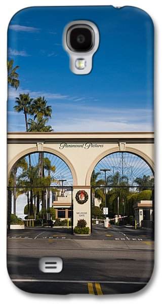 Studio Photography Galaxy S4 Cases - Entrance Gate To A Studio, Paramount Galaxy S4 Case by Panoramic Images