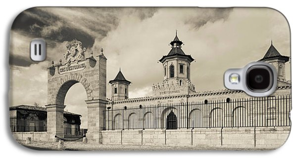 Winery Photography Galaxy S4 Cases - Entrance Of A Winery, Chateau Cos Galaxy S4 Case by Panoramic Images