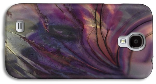 Modern Abstract Glass Art Galaxy S4 Cases - Entwined Galaxy S4 Case by Gaby Tench