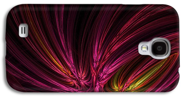 Green And Yellow Abstract Galaxy S4 Cases - Equalized Galaxy S4 Case by Lourry Legarde