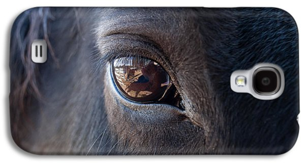 Western Photographs Galaxy S4 Cases - Equine In Sight Galaxy S4 Case by Sheryl Cox