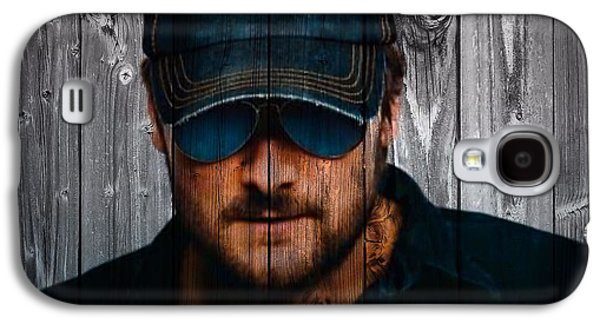 Hammer Galaxy S4 Cases - Eric Church Galaxy S4 Case by Dan Sproul