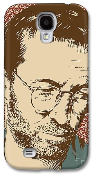 Torn Galaxy S4 Cases - Eric Clapton Galaxy S4 Case by Jim Zahniser