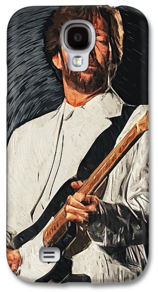 Beatles Galaxy S4 Cases - Eric Clapton Galaxy S4 Case by Taylan Soyturk