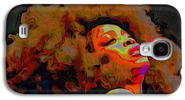 Erykah Badu Galaxy S4 Case by  Fli Art