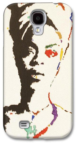 African-american Galaxy S4 Cases - Erykah Badu Galaxy S4 Case by Stormm Bradshaw