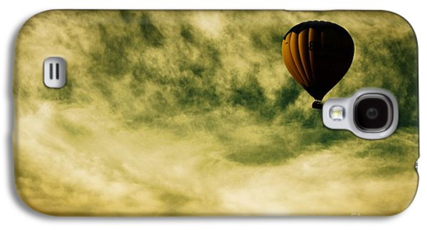 Hot Air Balloon Galaxy S4 Cases - Escapism Galaxy S4 Case by Andrew Paranavitana