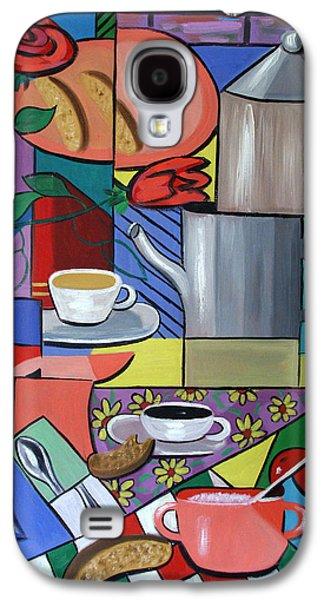 Espresso Galaxy S4 Cases - Espresso Galaxy S4 Case by Anthony Falbo