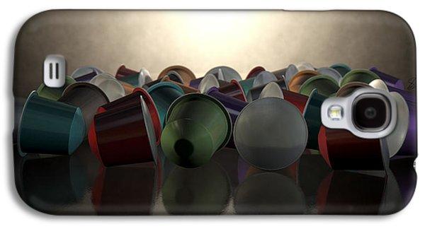 Capsule Galaxy S4 Cases - Espresso Coffee Capsules Galaxy S4 Case by Allan Swart