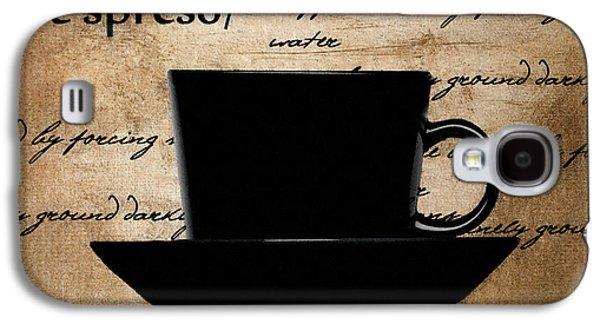 Espresso Galaxy S4 Cases - Espresso Madness Galaxy S4 Case by Lourry Legarde