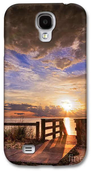 Essence Of Light Galaxy S4 Case by Marvin Spates