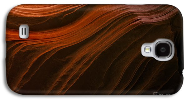 Line Photographs Galaxy S4 Cases - Etched in Stone Galaxy S4 Case by Mike Dawson