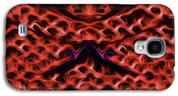 Painter Photo Mixed Media Galaxy S4 Cases - Eternal Flames Galaxy S4 Case by Jimi Bush