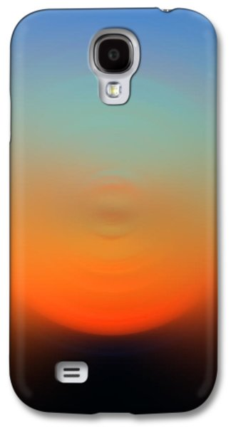 Light Mixed Media Galaxy S4 Cases - Eternal Light - Energy Art By Sharon Cummings Galaxy S4 Case by Sharon Cummings