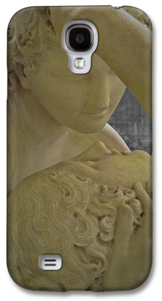 Cupid Galaxy S4 Cases - Eternal Love - Psyche Revived by Cupids Kiss - Louvre - Paris Galaxy S4 Case by Marianna Mills