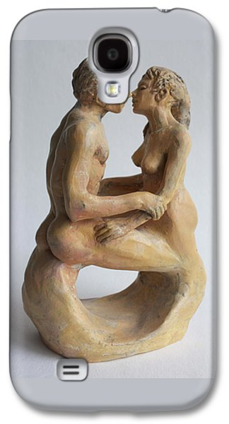 Nudes Sculptures Galaxy S4 Cases - Eternity Galaxy S4 Case by Derrick Higgins