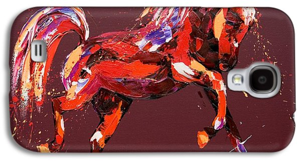 Wild Horse Paintings Galaxy S4 Cases - Ethereal Dream Galaxy S4 Case by Penny Warden