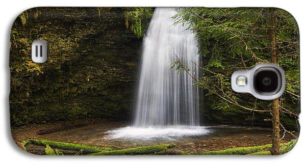 Idaho Photographs Galaxy S4 Cases - Ethereal Shadow Falls Galaxy S4 Case by Mark Kiver