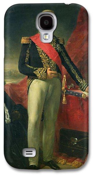 Full-length Portrait Galaxy S4 Cases - Etienne-jacques-joseph-alexandre Macdonald 1765-1840 Duc De Tarente And Marshal Of France, 1837 Oil Galaxy S4 Case by Jean Sebastien Rouillard