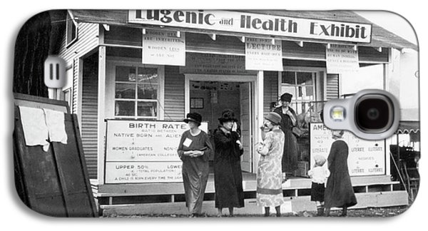 Eugenics Exhibit At Public Fair Galaxy S4 Case by American Philosophical Society