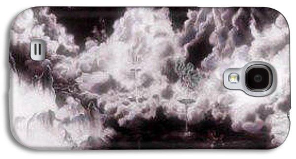 Dreamscape Galaxy S4 Cases - Eurasia in the 90s Galaxy S4 Case by Jessi Anjuli