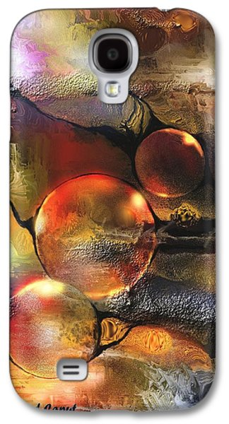 Abstract Digital Paintings Galaxy S4 Cases - Evanescence Galaxy S4 Case by Francoise Dugourd-Caput