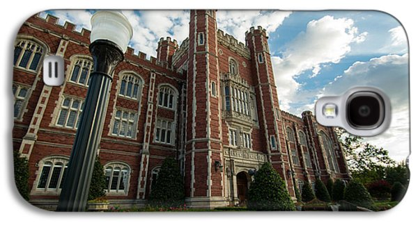 Evans Hall In The Evening Galaxy S4 Case by Nathan Hillis