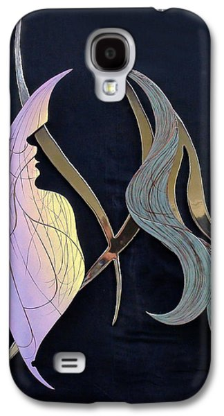 Contemporary Art Glass Art Galaxy S4 Cases - Eve Galaxy S4 Case by Dan Redmon