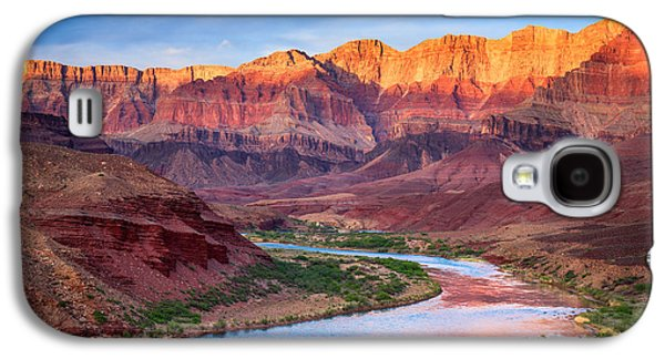 Grand Canyon Photographs Galaxy S4 Cases - Evening at Cardenas Galaxy S4 Case by Inge Johnsson
