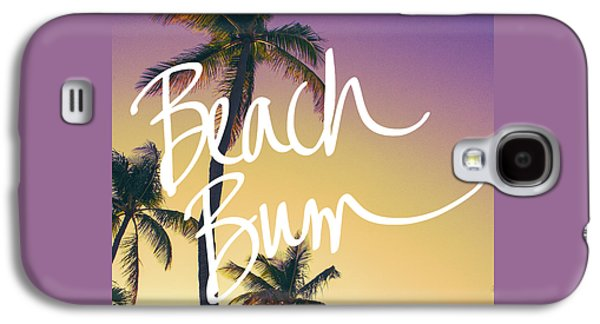 Evening Beach Bum Galaxy S4 Case by Emily Navas