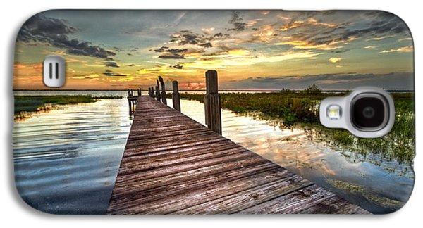 Evening Dock Galaxy S4 Case by Debra and Dave Vanderlaan
