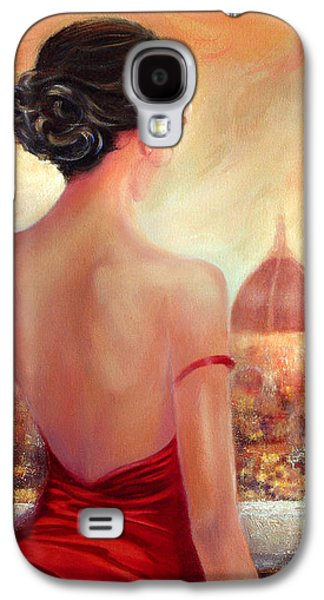Updo Galaxy S4 Cases - Evening in Florence Galaxy S4 Case by Michael Rock